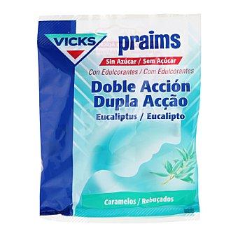 Vicks Caramelos para la garganta praims sin azucar doble accion plus c 60 g