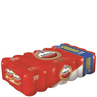Amstel Cerveza 28 latas de 37,5 cl