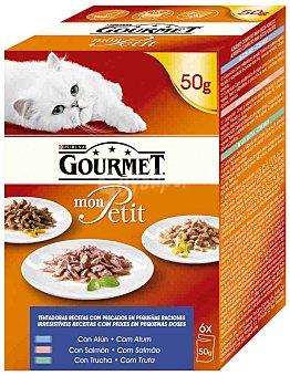 Bon Menu Comida para gatos pescado pack 6x50 gr