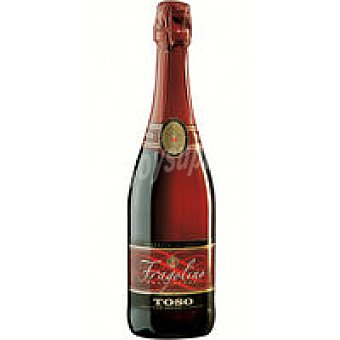 Toso Espumoso Rosso Fragolino Botella 75 cl