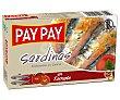 Sardinas en aceite 88 g Pay Pay