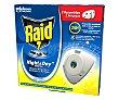 Recambio de repelente de mosquitos eléctrico night & DAY Pack 2 uds Raid