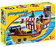 Escenario de juego Barco pirata con figuras y accesorios, 1.2.3 9118 playmobil 123 9118  Playmobil