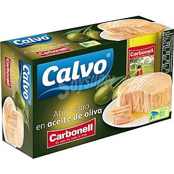 Calvo Atún en aceite de oliva Carbonell Lata 81 g neto escurrido