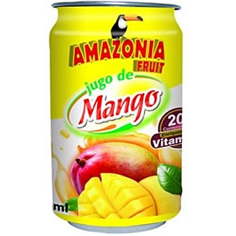 Amazonia Fruit jugo de mango Lata 33 cl