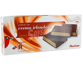 Auchan Turrón praliné de crema irlandesa 300 gramos