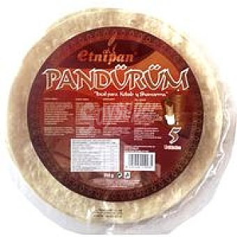 ETNIPAN Pan durum paquete 5u 310 gr