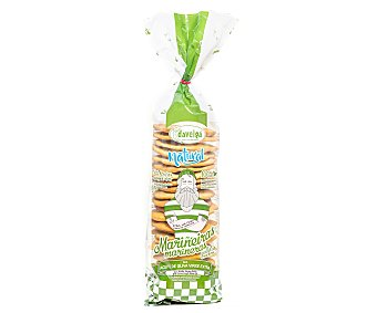 Daveiga Galletas-crackers marineras con aceite de oliva 200 gr