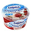 quark sabor fresa 0,2% M.G tarrina 500 g Exquisa