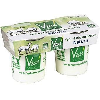 Vrai Yogur natural de oveja biológico Pack 2 unidades 125 g