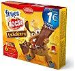 Galletas de cacao rellenas de Nocilla con bolitas de cereales  2 paquetes - 6 unidades de 90 g Cuétara