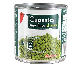 Auchan Guisantes al Natural Finos Calidad Extra Lata 280 Gramos