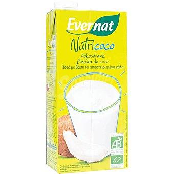 EVERNAT Bebida de coco ecológica Envase 1 l