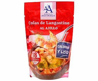 Angulas Aguinaga Colas de langostinos al ajillo 105 gramos