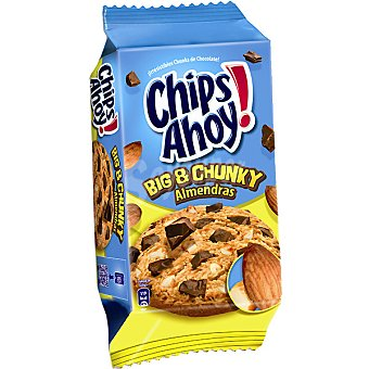 Chips Ahoy galletas con pepitas de chocolate y almendra estuche 184 g