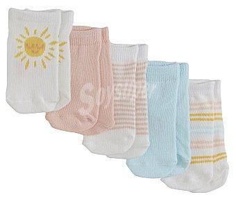 In Extenso Lote 5 pares de calcetines de bebé talla 21/23.