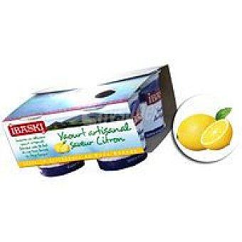 IBASKI Yogur de limón Pack 4x125 g