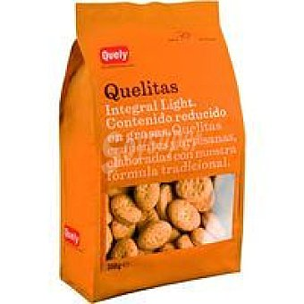 Quely Galletas Quelitas integrales light Paquete 350 g