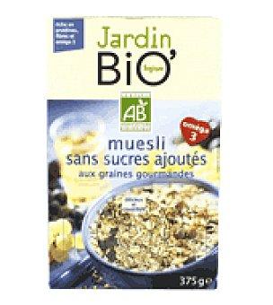 Jardin Bio Cereal muesi sin azúcar 375 g