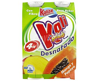 Kalise Yogur Líquido Desnatado mango/papaya Yog. Des Líq Mng/Pa750ml