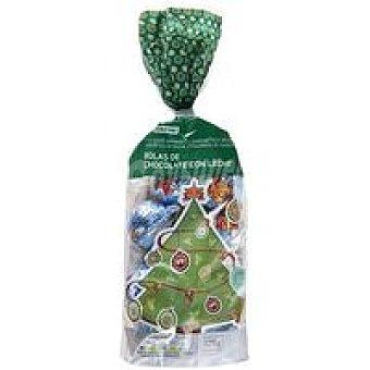 Eroski Bolas de chocolate de Navidad Bolsa 125 g