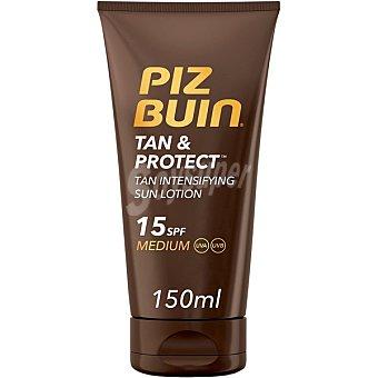 Piz buin Tan & Protec intensificador de bronceado SPF-15 Tubo 150 ml