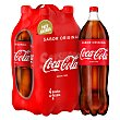 Refresco de cola Pack 4 botellas x 2 l Coca-Cola