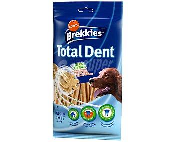 Brekkies Affinity Total Dent Sticks para el control de sarro para perro de raza mediana 7 unidades (bolsa 225 g)