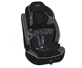 Play Silla de auto para grupo 1-2-3, color negro, safe ONE plus