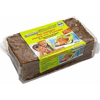 Mestemacher Pan ecológico integral con 3 cereales Paquete 500 g