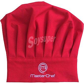 MASTER CHEF Gorro de cocinero
