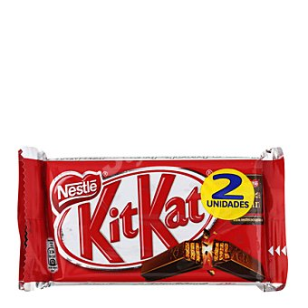 Kit Kat Nestlé Barrita de galleta crujiente cubierta de chocolate con leche Pack de 2x45 g
