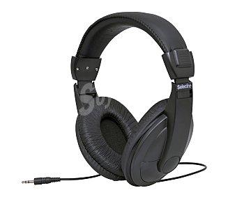 Selecline Auriculares tipo TV HP 905863752 con cable, control de volumen, negro HP-905863752