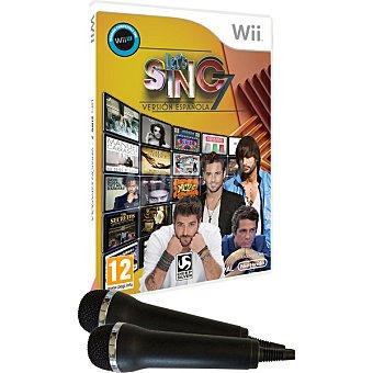 WII Videojuego Lets Sing 7 Versión para Wii 1 unidad