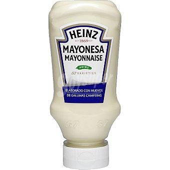 Heinz Mayonesa elaborada con huevos de gallinas camperas Envase 395 ml