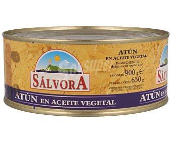 Salvora Atún en aceite vegetal 650 g
