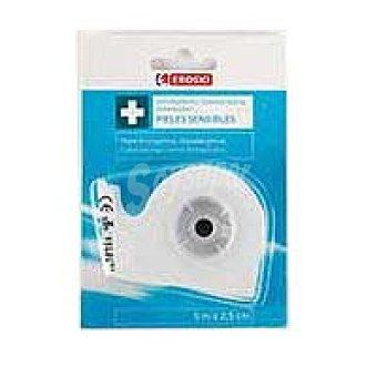 Eroski Esparadrapo papel microporoso Pack 1 unid