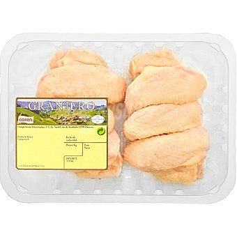 Granjero Alas enteras de pollo peso aproximado Bandeja 650 g