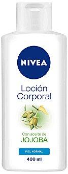 NIVEA loción corporal con aceite de jojoba para piel normal frasco 400 ml