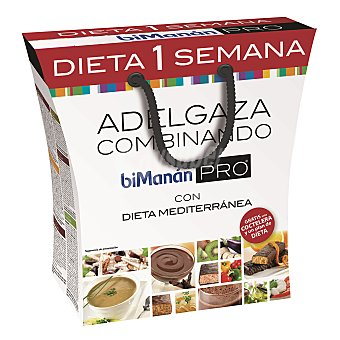 Bimanan Pack dieta 1 semana 855 g