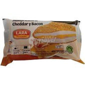 Lara Pechuga rellena con queso cheddar-bacón Paquete 460 g