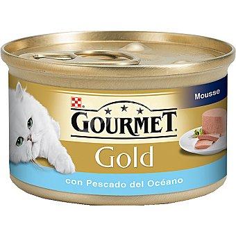 GOURMET GOLD Alimento para gato con pescado del océano  Lata de 85 g