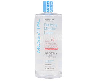 Mussvital Agua micelar que limpia y desmaquilla 500 ml