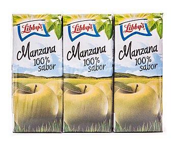 Libby's Zumo de manzana Brick de 20 centilitros pack de 3