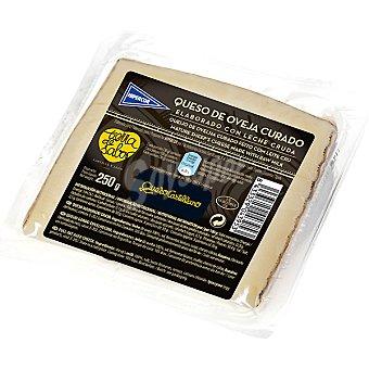 Hipercor Queso castellano de oveja curado elaborado con leche cruda cuña 250 g