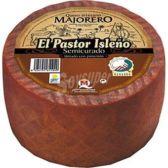 Pastor isleño Queso semicurado pimenton 1 kg
