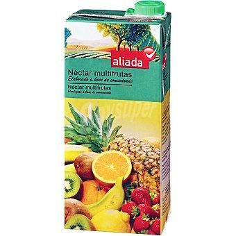 Aliada Néctar multifrutas elaborado a base de concentrado Envase 1 l