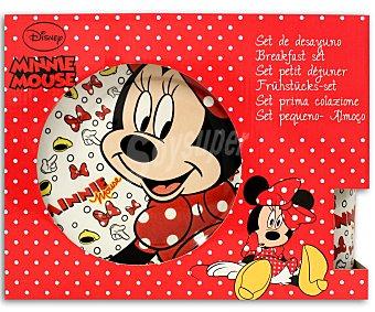 Disney Set de cerámica con diseños de Minnie Mouse Icons 1 Unidad