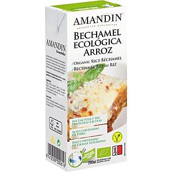 AMANDIN bechamel de arroz ecológica envase 200 ml