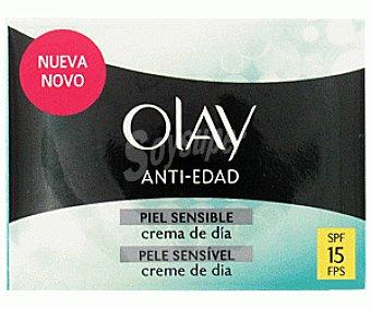 Olay Crema Antiedad Piel Sensible Día FP15 50ml